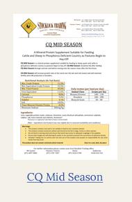 CQ mid season